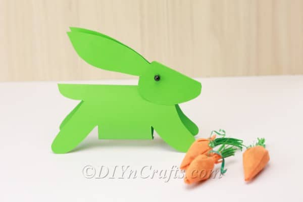 How to Make a Simple Paper Easter Bunny