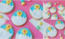 Fun Easter Chick and Egg Sugar Cookies Recipe