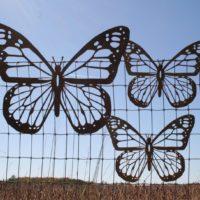 Rustic Monarch Butterfly Wall Art