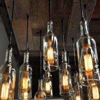 11 Wine Bottle Pendant Chandelier