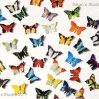 Tiny Paper Butterflies