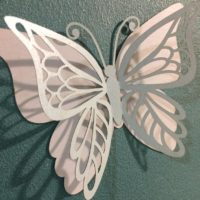 Butterflies SVG cutting file and butterfly DXF cut file
