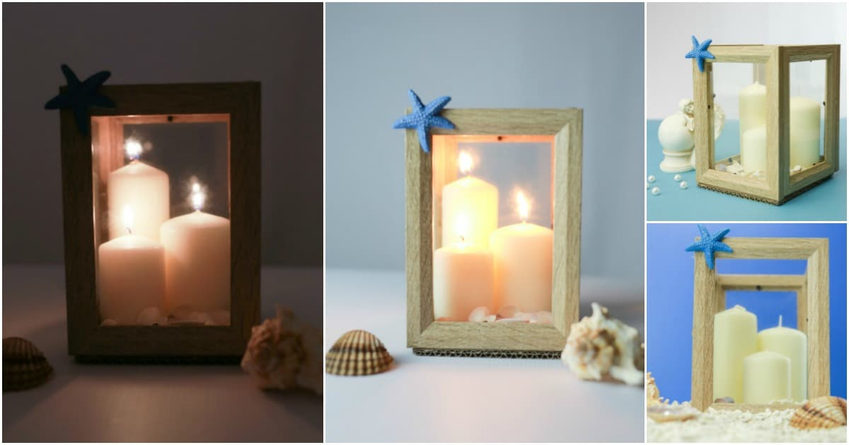 How To Make A Farmhouse Lantern From Inexpensive Picture