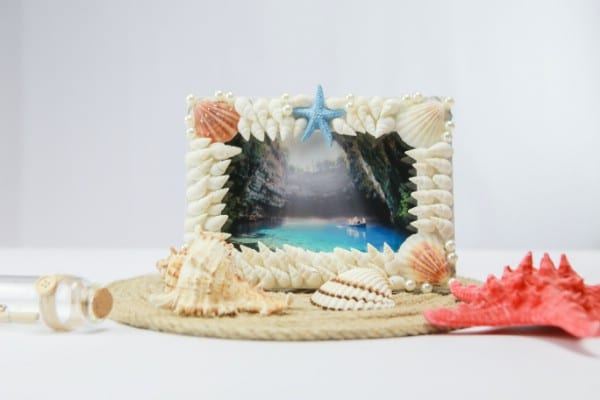 How To Make A DIY Seashell Picture Frame