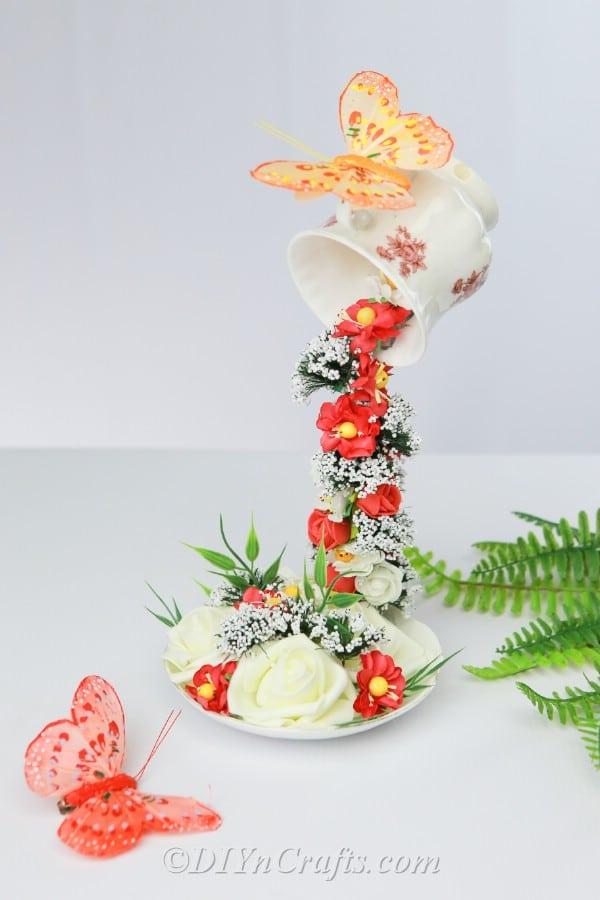 How To Make A DIY Floating Teacup Decoration