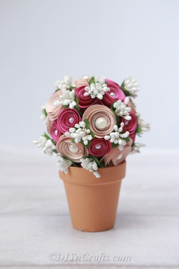 How to make Flower Vase ||DIY Simple Paper Craft|flower Pot making || dustu  pakhe craft| - YouTube | 900x600