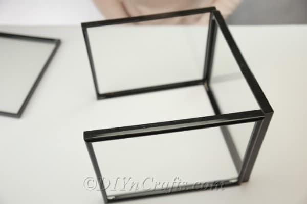 Base created from 4 picture frames
