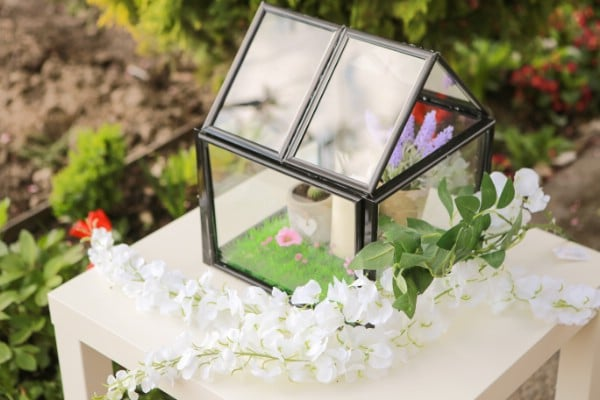 How To Make A Miniature Greenhouse From Picture Frames
