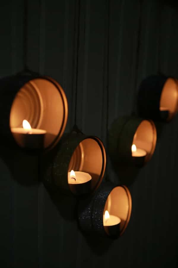 How To Make Decorative Tealight Holders From Tuna Cans