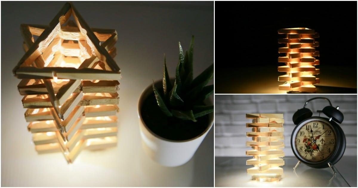 Table Lamp Diy Homemade How To Make