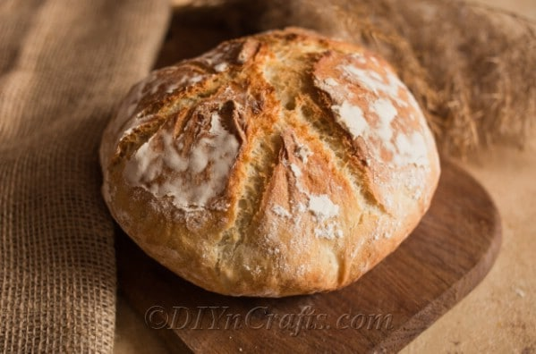 French bread ready to served