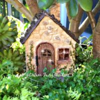 Fairy garden house, fairy cottage, miniature house.