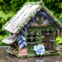 Fairy House with Opening Door