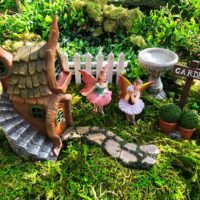 Fairy Garden Kit, Complete Fairy Garden Set.