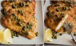 Quick And Wholesome Chicken Piccata Recipe