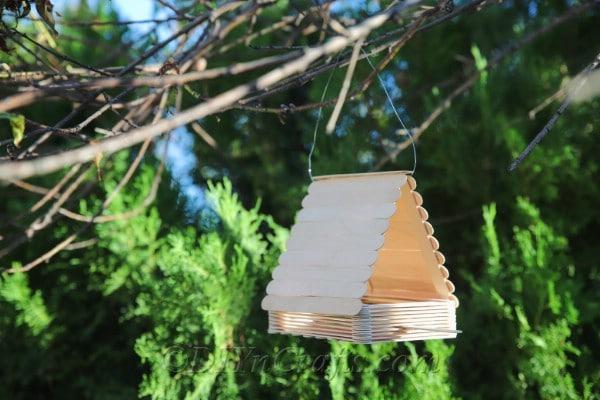 Enjoy your DIY bird feeder.