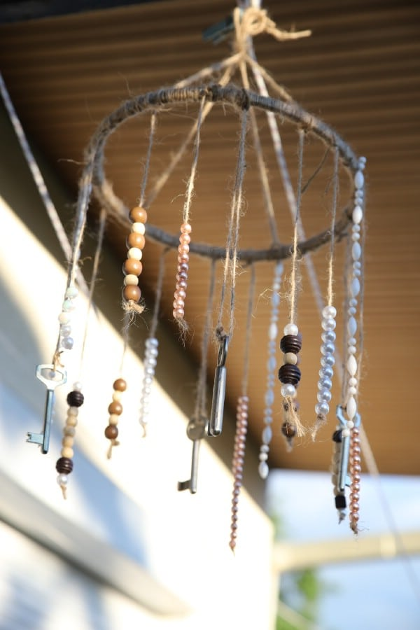 How to Make a Rustic Wind Chime