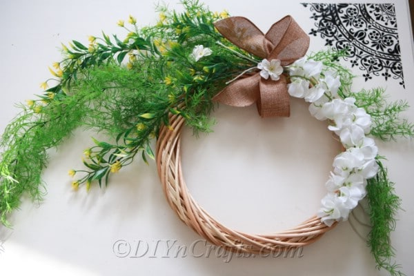 You can display your DIY wreath at any time of year.