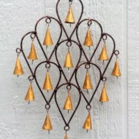 Peacock Feather Shaped Wind Chime