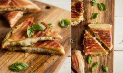 Easy Pesto Grilled Cheese Recipe