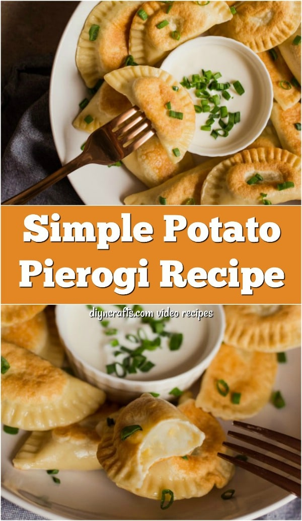 Simple And Tasty Potato Pierogi Recipe - Step-by-step recipe and video show you how to make your own homemade potato pierogies. These tasty little treats are the perfect Polish main course and can be paired with many side dishes.
