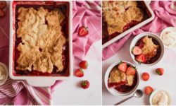 Easy Homemade Strawberry Cobbler Recipe