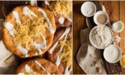 Fried Flatbread aka Hungarian Langos Recipe