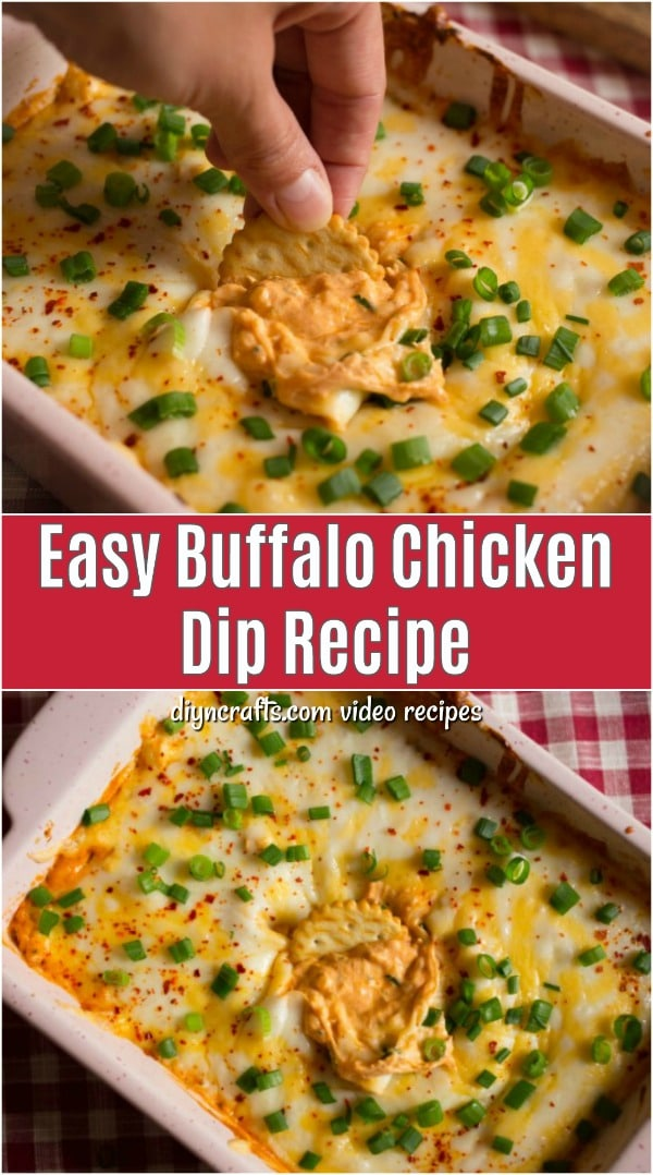 Easy Buffalo Chicken Dip Recipe The Perfect Appetizer For