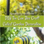 DIY Hanging Bee Craft Garden Decoration