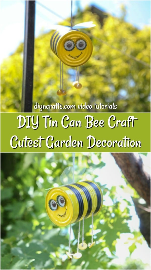 "DIY Hanging Bee Craft Garden Decoration ""width ="" 600 ""height ="" 1070 ""srcset ="" https://cdn.diyncrafts.com/wp-content/uploads/2019/08/diy-bee-craft-p.jpg 600w, https://cdn.diyncrafts.com/wp-content/uploads/2019/08/diy-bee-craft-p-168x300.jpg 168w, https://cdn.diyncrafts.com/wp-content/uploads/ 2019 / 08 / diy-bee-craft-p-574x1024.jpg 574w ""sizes ="" (maximum width: 600px) 100vw, 600px"