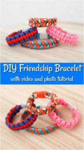 DIY Square Knot Bracelet Friendship Bracelet Tutorial