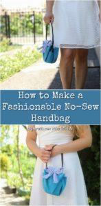 DIY Handbag pinterest photo collage