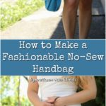DIY Handbag pinterest photo collage