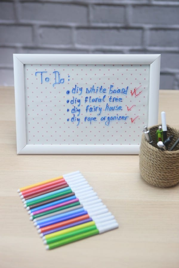How to Make Your Own Office White Board