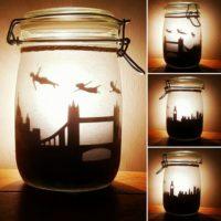 Peter Pan jar light