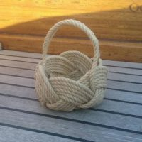 Nautical Rope Knot Bowl.