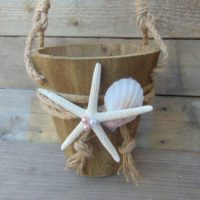 Beach wedding basket