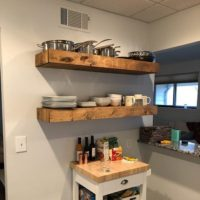 Wood Floating Shelves 14-inches Deep