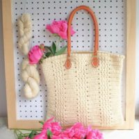 Easy Crochet Bag Pattern / DIY Tote Bag
