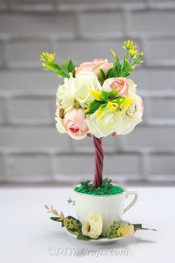 Tremendous How To Make A Topiary Tree Flower Arrangement Diy Crafts Download Free Architecture Designs Scobabritishbridgeorg