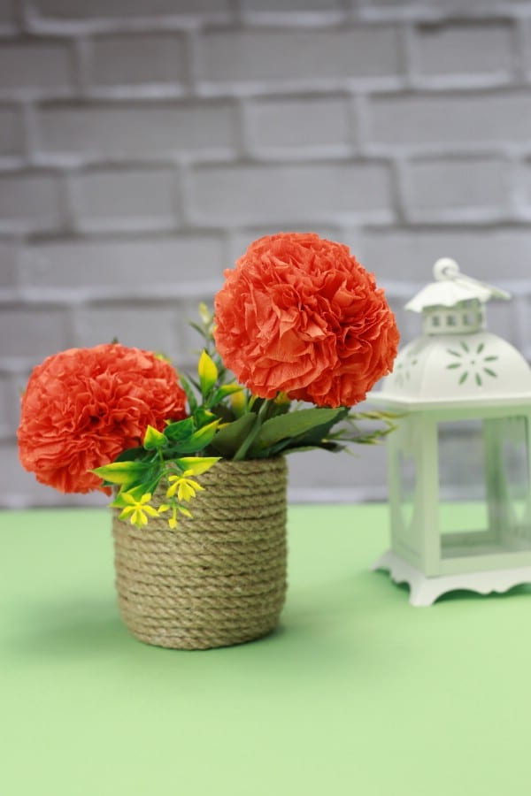 How to Make Tissue Paper Ball Flowers