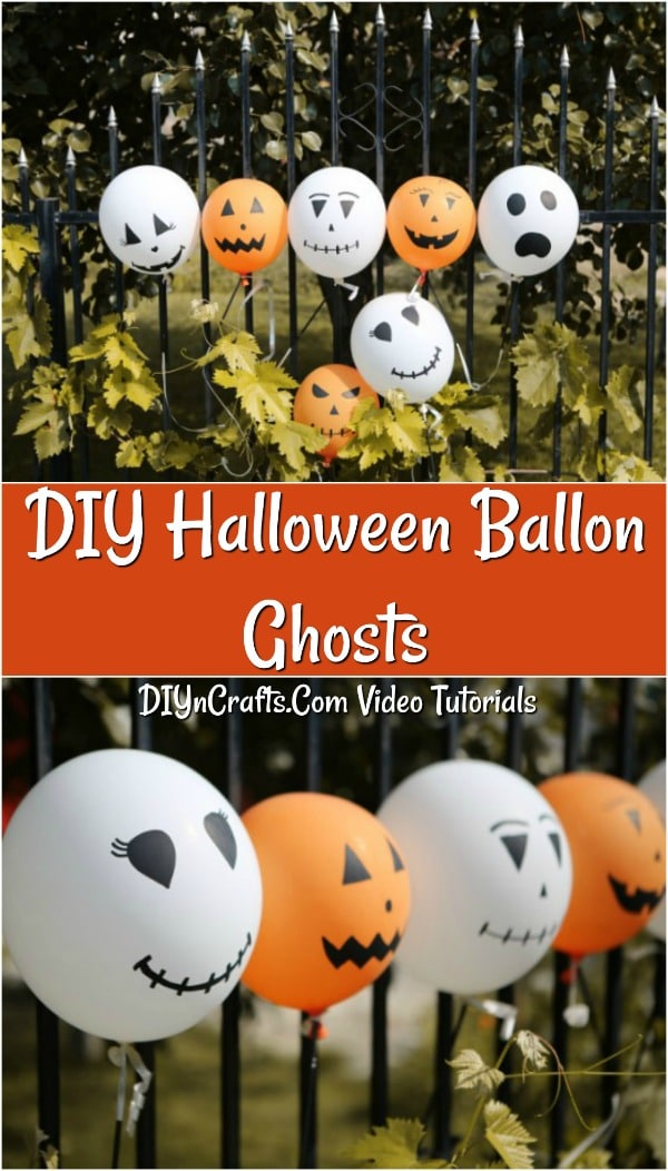 How To Make Decorative Halloween Balloons Diy Crafts