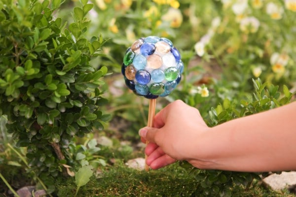DIY Ball Lawn Ornament Garden Decoration