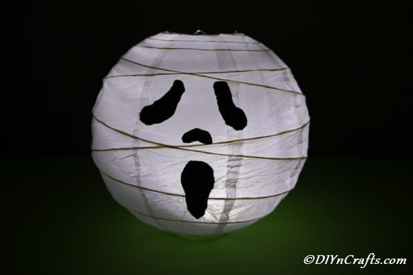 How to Make a Ghost Paper Lantern