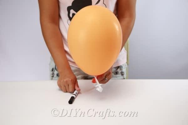 Halloween balloons supplies