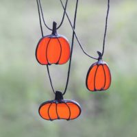 Pumpkin Necklace Ornament