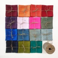 Soft linen napkins set many COLORS