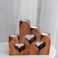 Heart Candle Holder Set