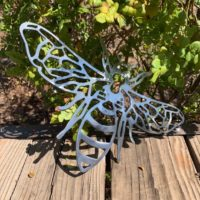Metal Garden Bee decor