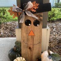 Rustic Scarecrow Door Hanger